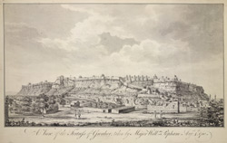 A View of the Fortress of Gwalior